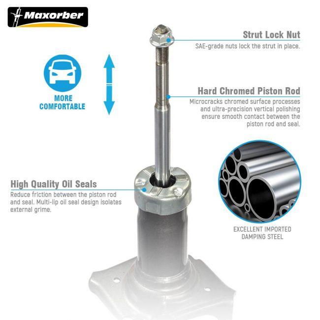 Maxorber Front Set Shocks Struts Absorber Compatible With